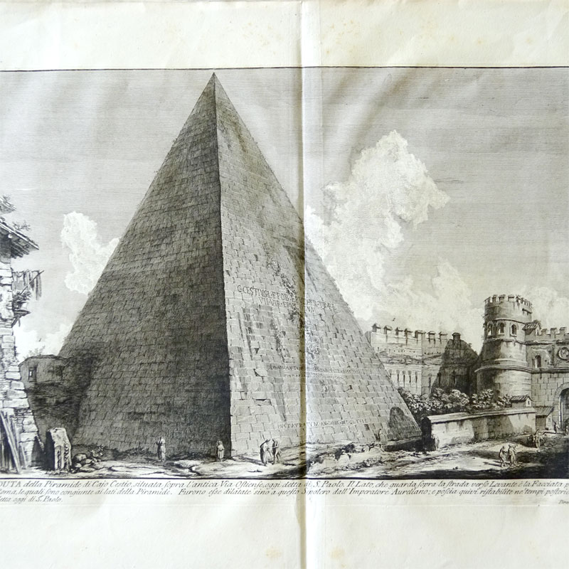 Image of Lot 96 - After Piranesi: three etchings from La Antichita Romane